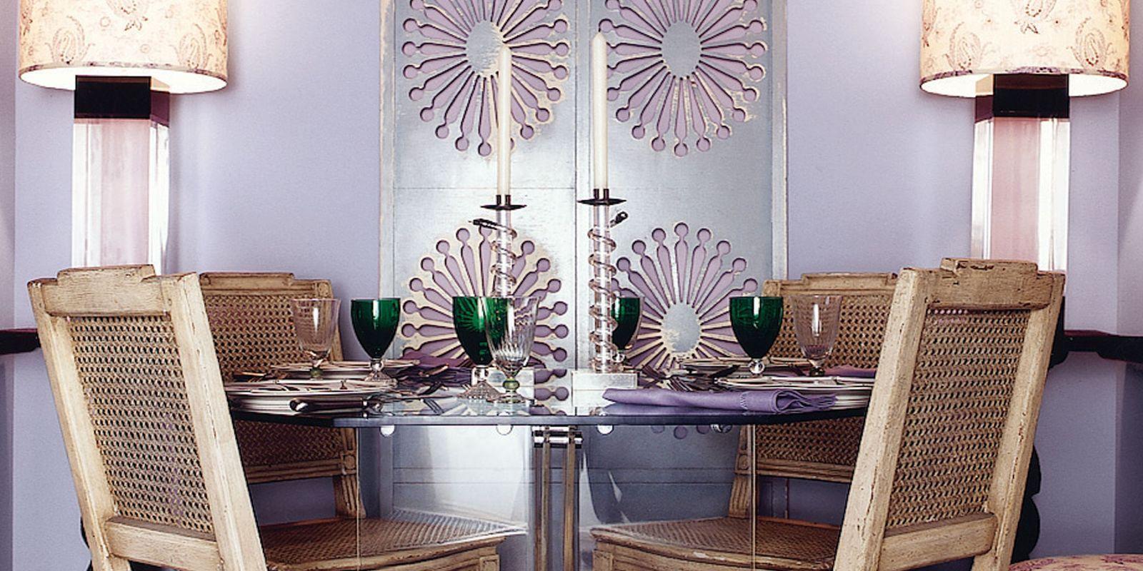 Lavender Dining Room Part 31