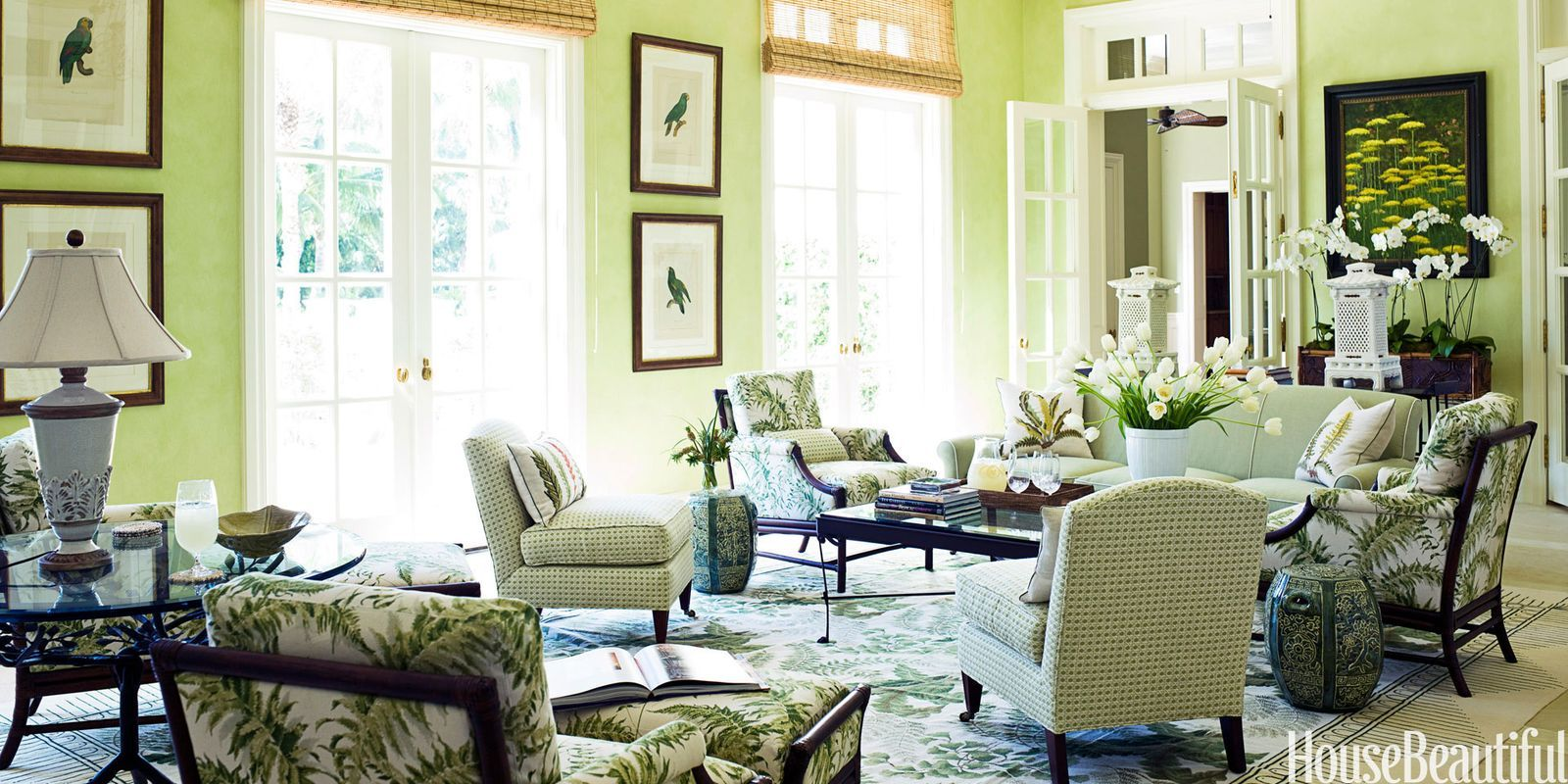 What the Color of Your Living Room Says About You