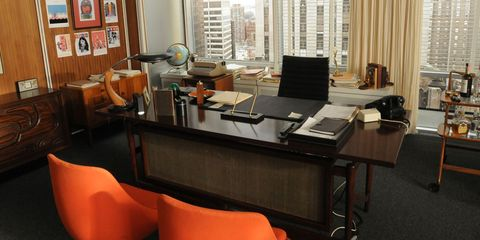 A Behind-the-Scenes Look at the Offices from Mad Men