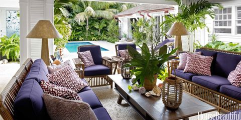 Liza Pulitzer Calhoun's Breezy and Colorful Palm Beach House