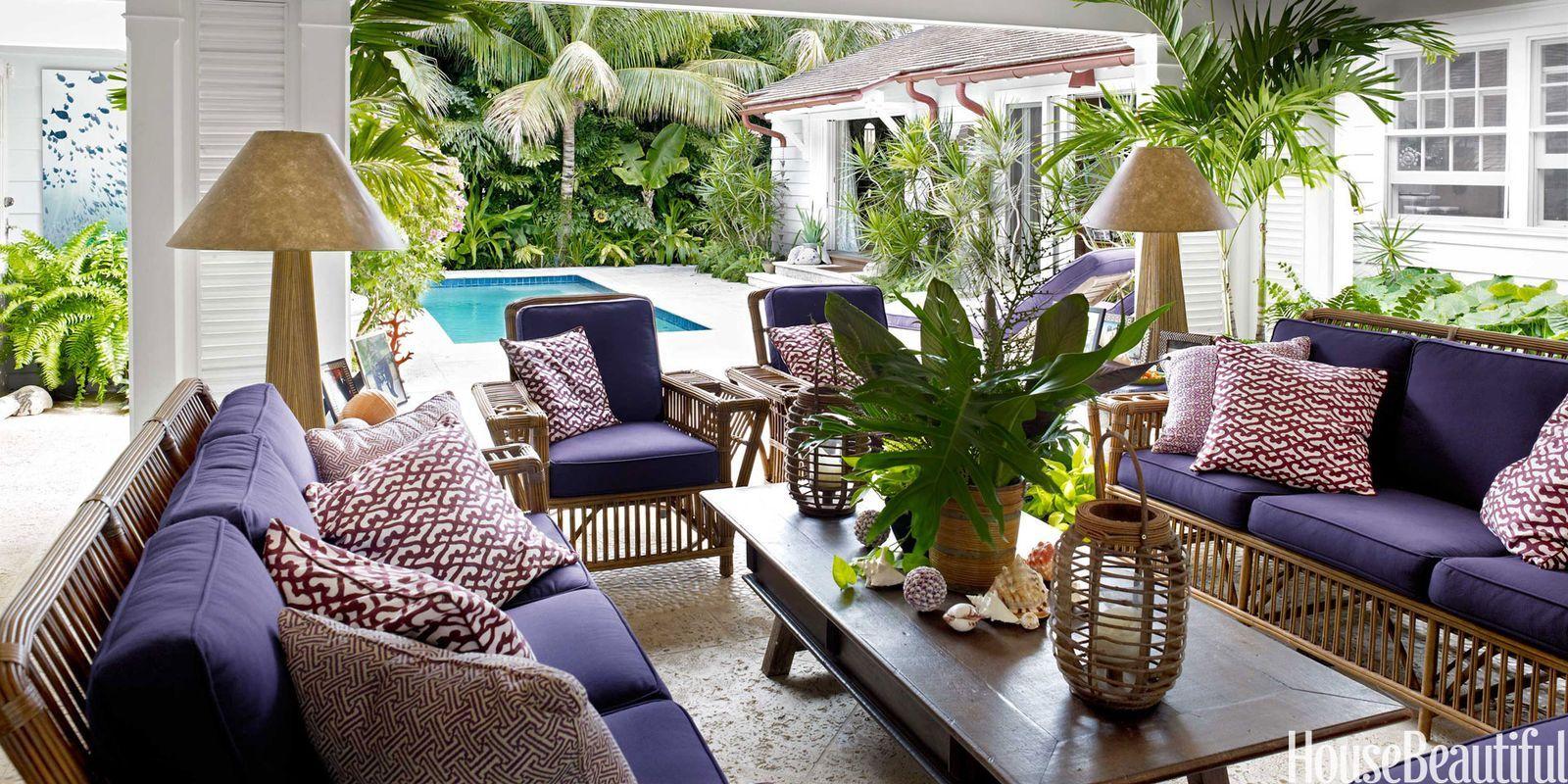 Ordinaire Purple Upholstered Sofa