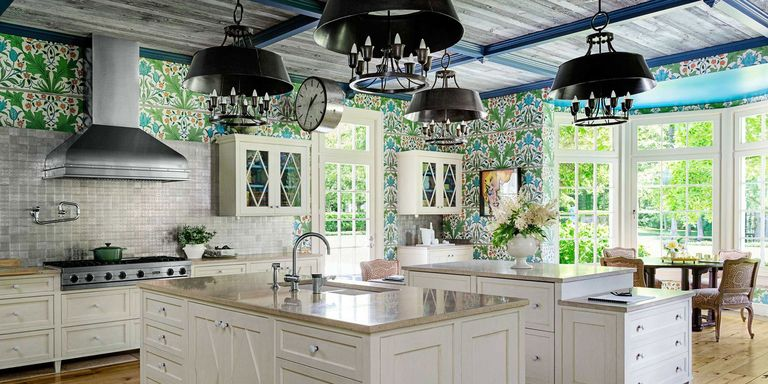 William Morris Wallpaper Kitchen