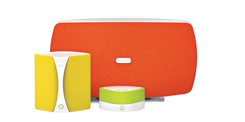 pure colorful speakers