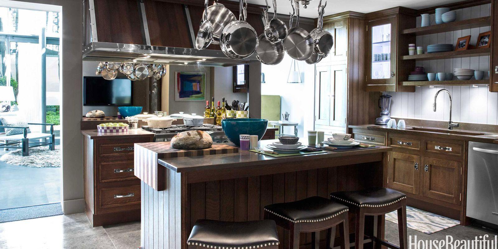 Mirrored Kitchen Wall