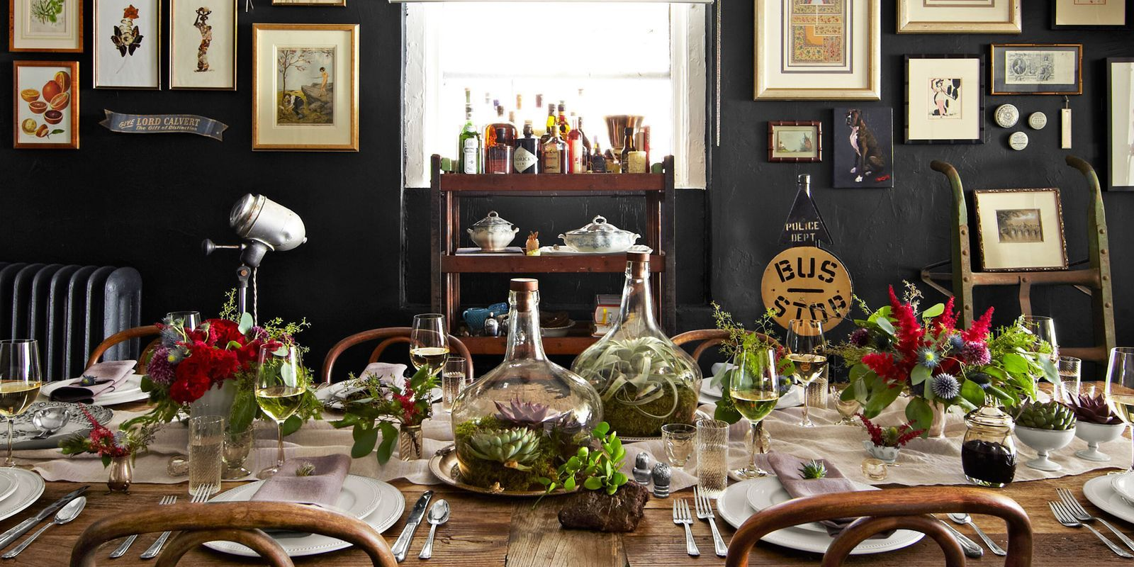 House Of Brinson Tablescape