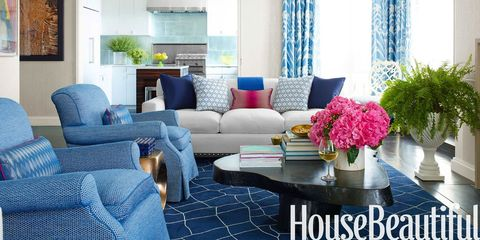 A Manhattan Apartment With a Harmony of Blues
