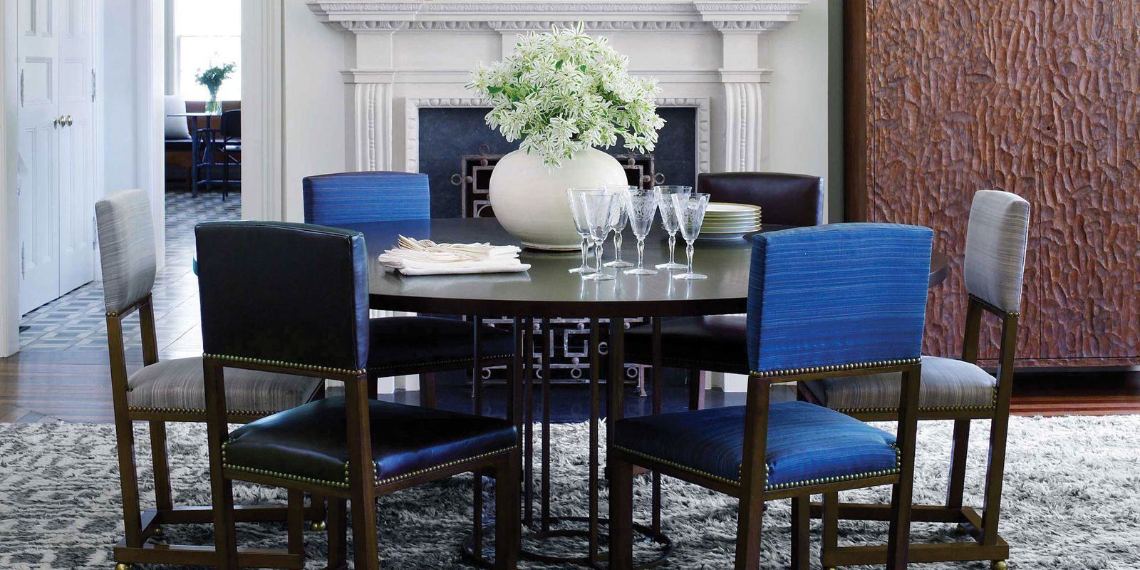 1920s swedish chairs & Modern Victorian House - Victorian House Decorating Ideas
