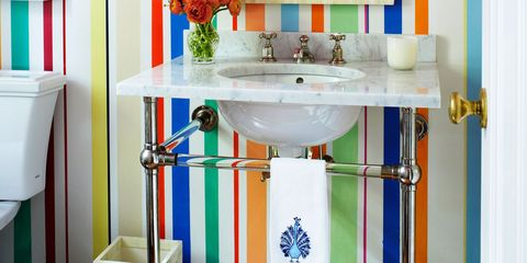 14 Colorful Ideas for Your Bathroom