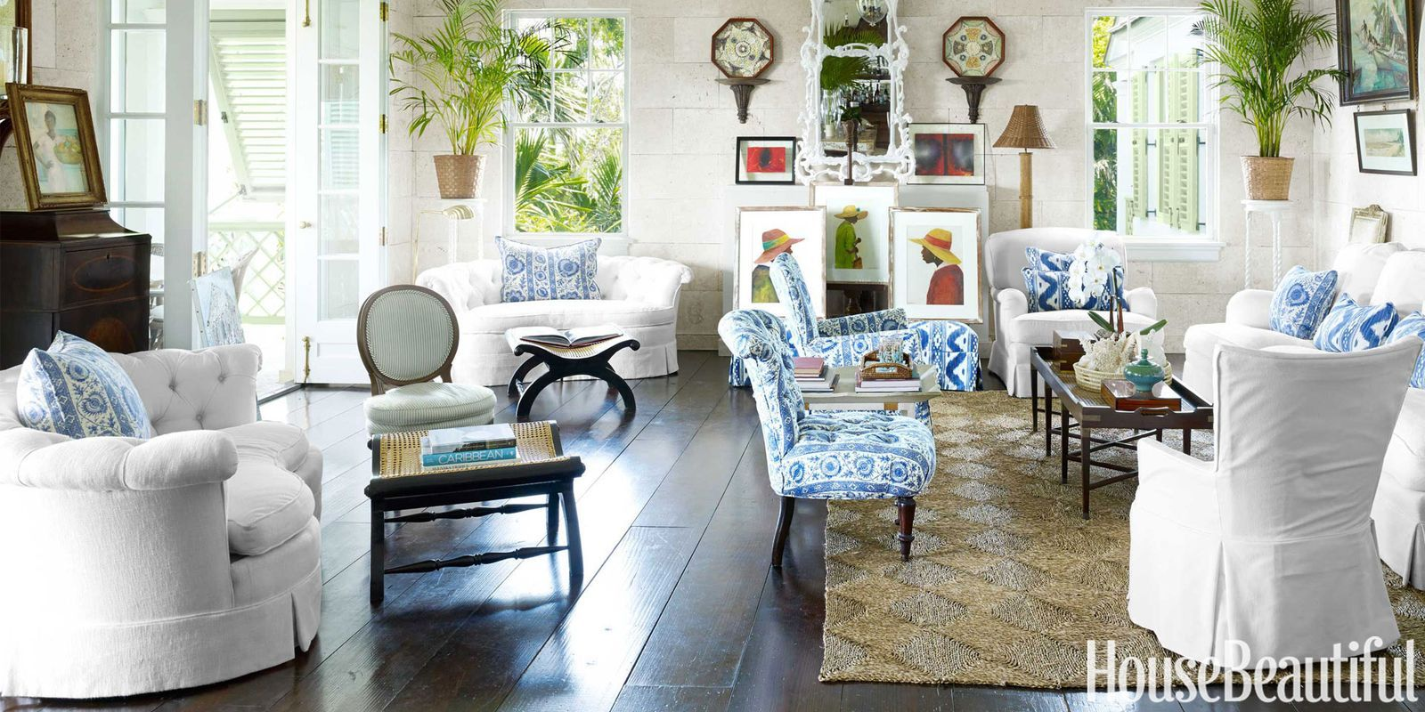 Inside a Bright and Airy Bahamas House