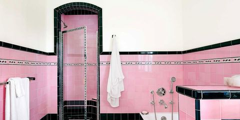 Two Bathrooms Transformed by Retro Tile