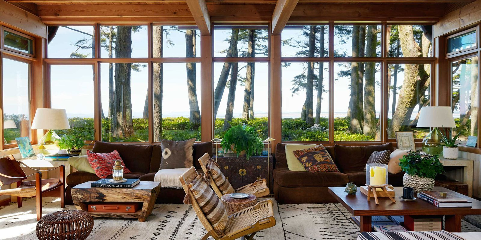 Warm and Rustic Modern House Organic House Design