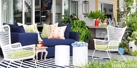 The Most Colorful Outdoor Rooms We've Ever Seen