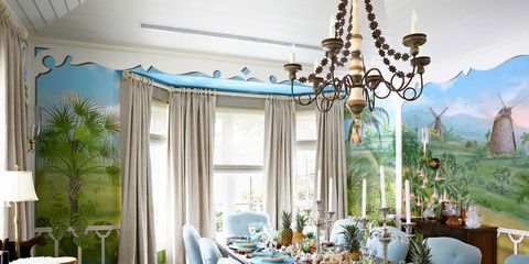 Tour a Colorful and Whimsical Winter Escape in Palm Beach
