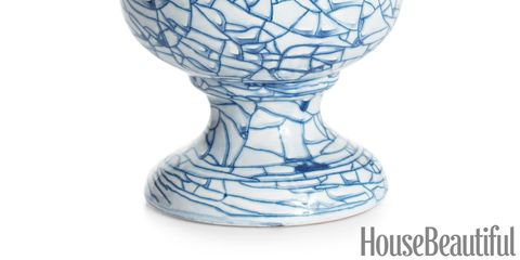 swirl glaze footed vase