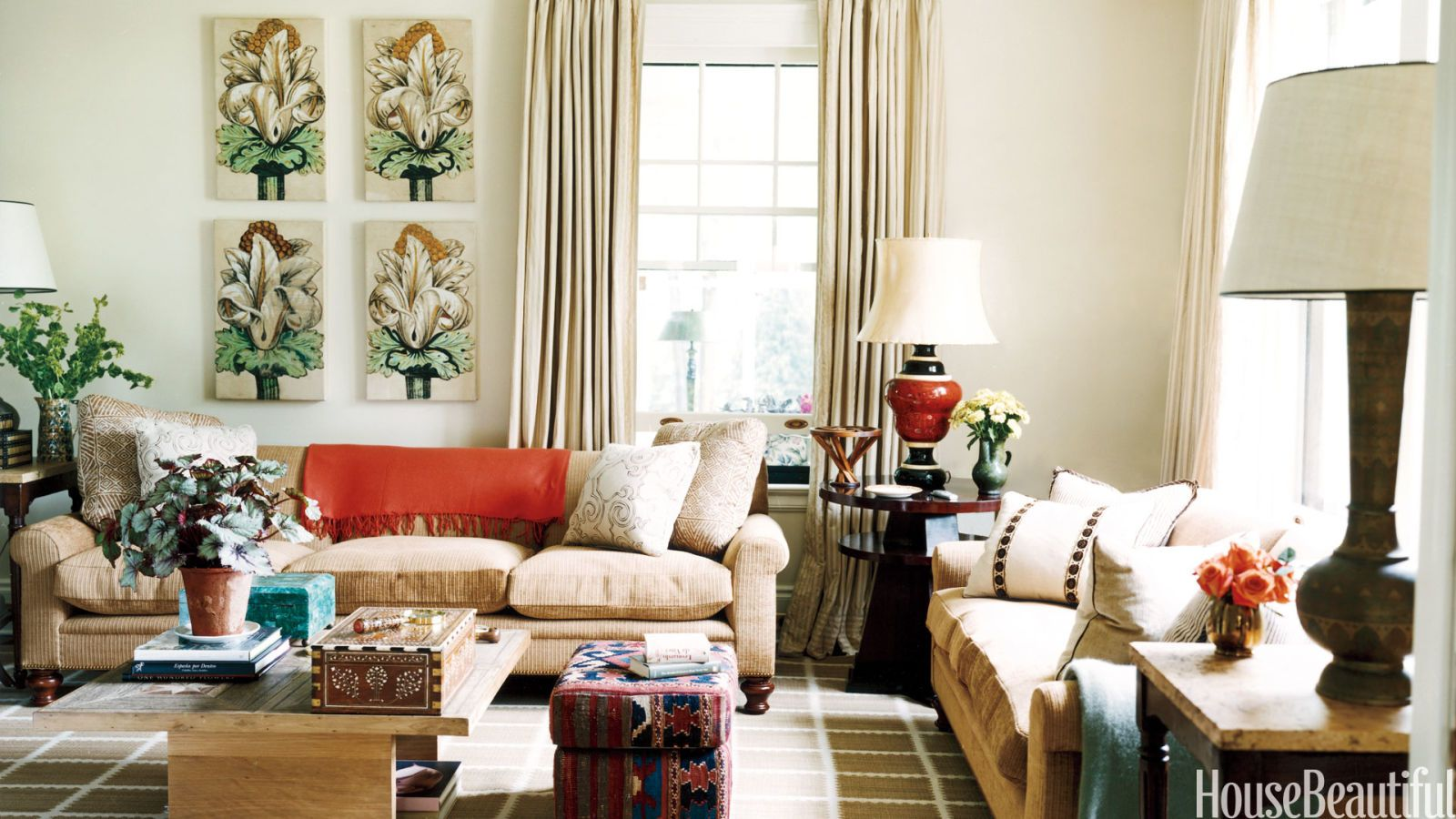 Happy Living Room - Fun Living Rooms