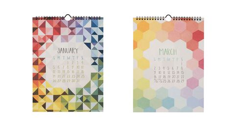 piece and pattern calendar