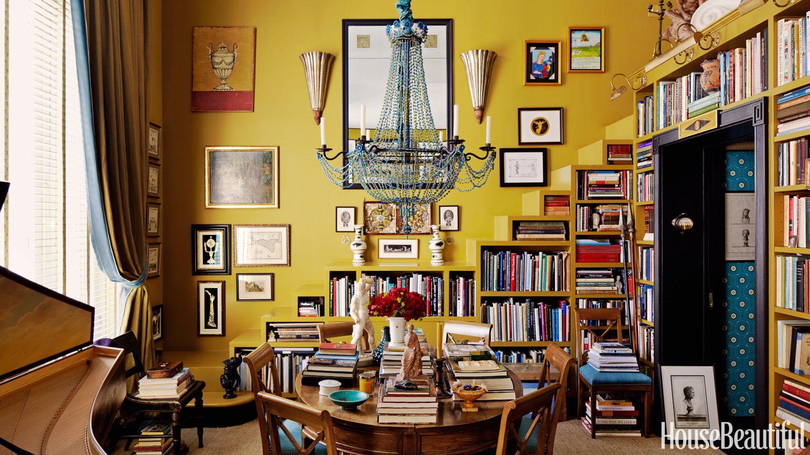 mustard green apartment