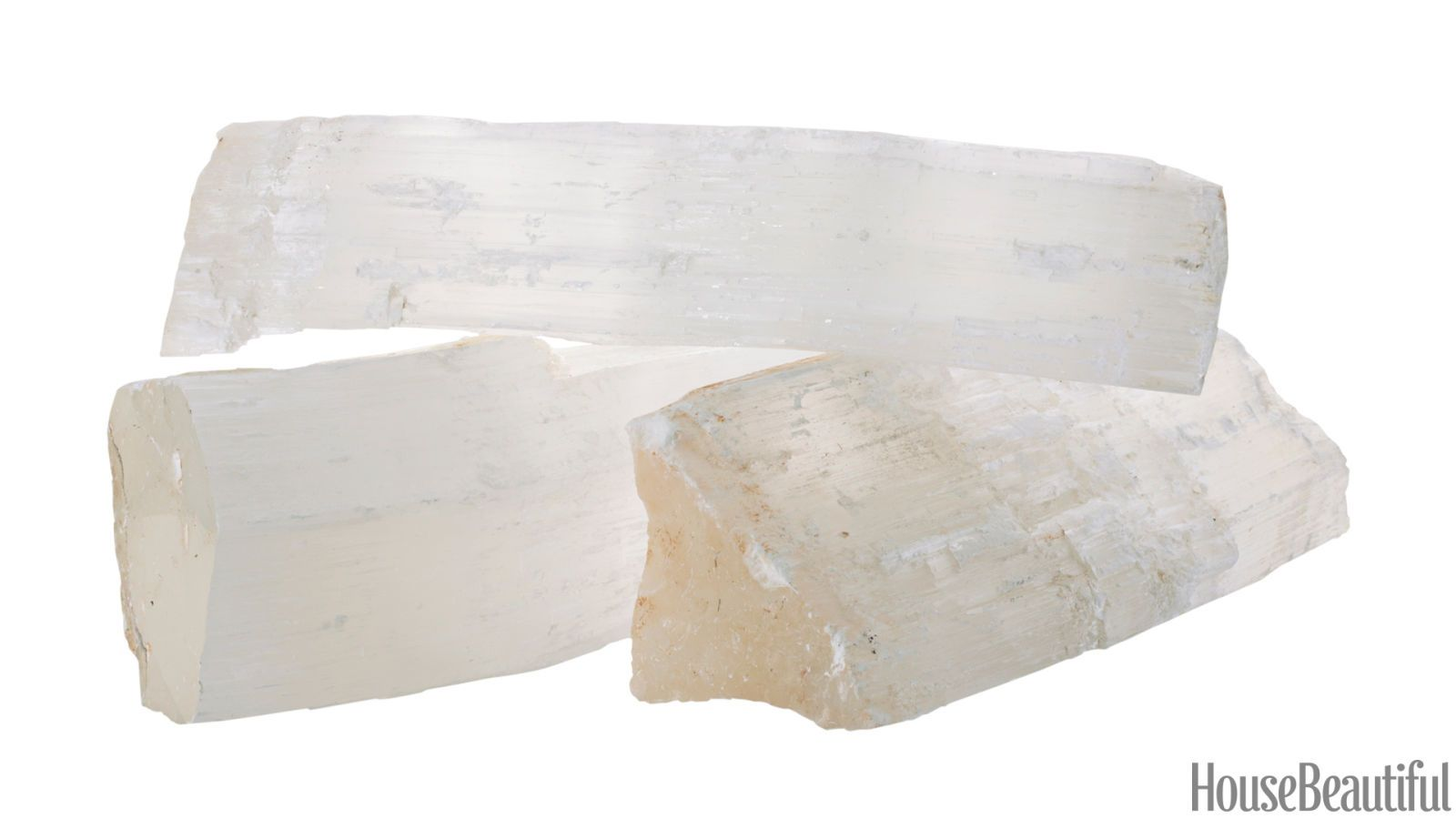 selenite logs