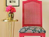 Recover your dining chairs, bench, <i>anything</i>