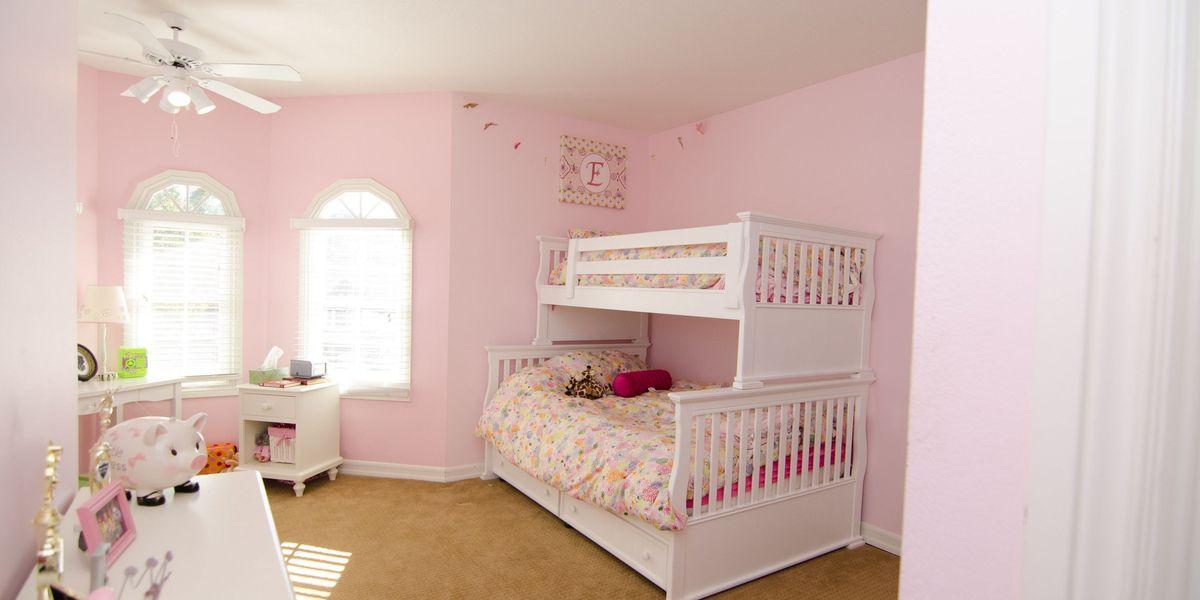 Sophisticated Kids Room Makeover - American Dream Builders Makeover