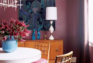 Color is Fun dining room.