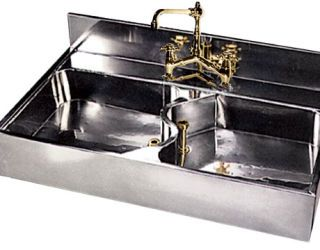 German Silver Sink