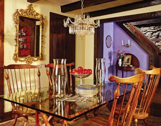 dining room decorated by eldon wong