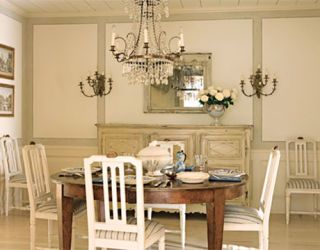 swedish style dining room with chandelier & Swedish Furniture - Decorating with Swedish Style Furniture