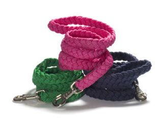 Colorful woven leashes