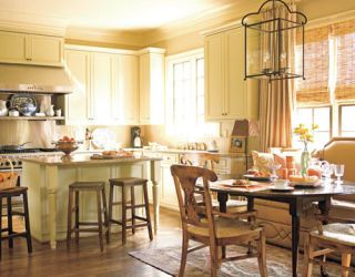 kitchen designed by kathy smith with neutral color palette
