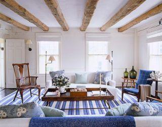 stunning east hampton living room design | Simple House - Scheerer - East Hampton