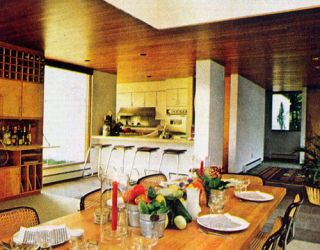 70s kitchen
