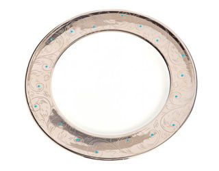 plate with gold rim