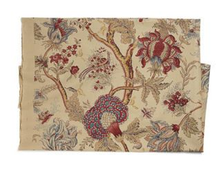 This exquisitely detailed hand-print reflects Western fascination with exotica.