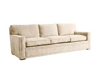 """<h2><b>Sofa</b></h2><p>""""<b>IKAT</b> is great for this sofa. The red isn't too intense, and the pattern breaks up the large piece of upholstery, giving it some sexiness."""""""