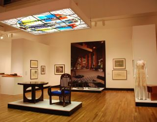 a shot inside the gallery