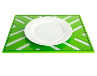 green place mat