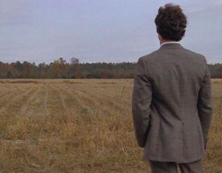 harold in a field