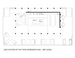 kitchen of the year floor plans