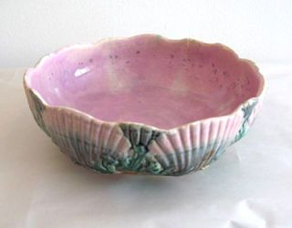 pink shell bowl