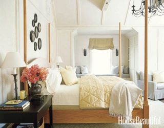 a shaker style bedroom
