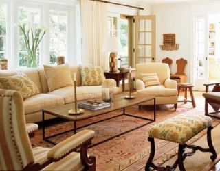 susan stromans living room designed by robert stilin
