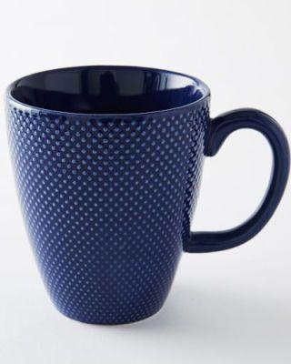 Blue, Serveware, Product, Drinkware, Dishware, Cup, Tableware, Line, Porcelain, Ceramic,