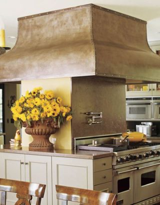antique urn in kitchen of the month