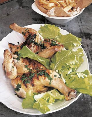 grilled free-range chicken