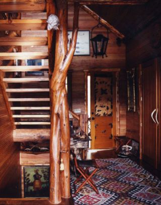 Rustic Adirondacks Log Cabin - Mimi Maddock McMakin