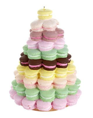 macaroon candle