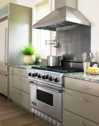 viking range with six burners