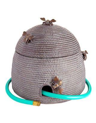 beehive shaped hose holder