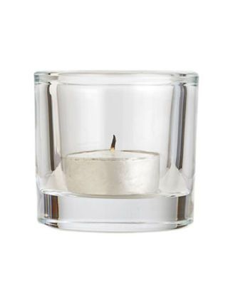 votive in glass holder